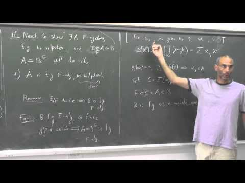 Topics in algebraic groups theory Uri Bader 7th week 3rd hour