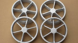 getlinkyoutube.com-Metal Casting at Home part 60 Spoked wheel Castings