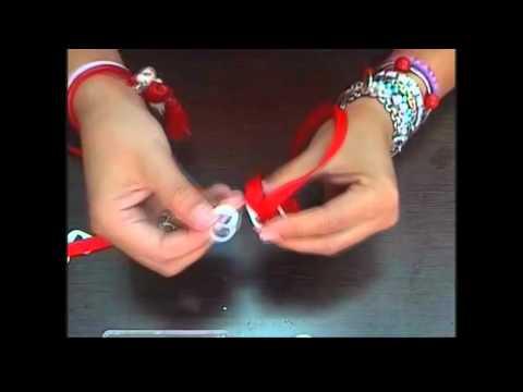 Como fazer uma pulseira com lacres de latinhas