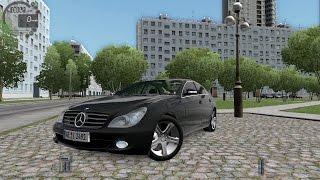 getlinkyoutube.com-City Car Driving 1.5.3 Mercedes CLS 500 C219 [G27]