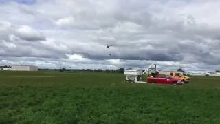 Helicopter Plants Cover Crop