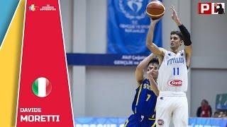 Davide Moretti - Highlights - 2016 FIBA U18 European Championship Samsun Turkey
