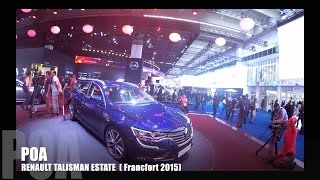 getlinkyoutube.com-Renault Talisman Estate (Francfort 2015)