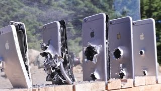 getlinkyoutube.com-How Many iPhones Does It Take To Stop an AK-74 Bullet?