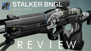 getlinkyoutube.com-Stalker BNGL - Best Rare Scout Rifle - Destiny Weapon Review [PS4]