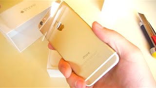 getlinkyoutube.com-iPhone 6 Gold Unboxing vs iPhone 6 Space Gray vs iPhone 5S