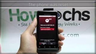 getlinkyoutube.com-How to Master Reset Motorola MILESTONE 2