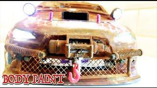 getlinkyoutube.com-RC DRIFT CAR - POST APOCALYPTIC CAR - Lexan Body Modified   [PART 1/2]