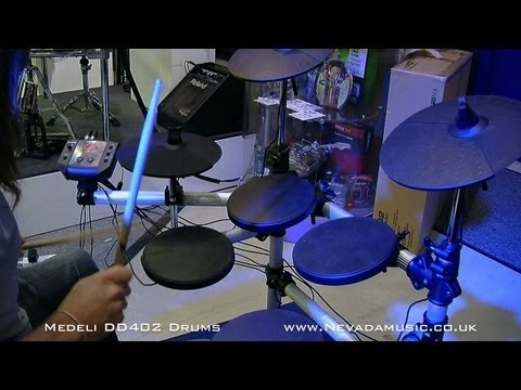 Medeli DD402 Electronic Drum Kit Demo - Nevada Music UK