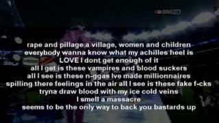 """getlinkyoutube.com-Kanye West """"Monster"""" ft. Jay Z, Nicki Minaj, Rick Ross & Bon Iver (Lyrics On Screen)"""