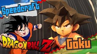 getlinkyoutube.com-Dragon Ball Z Papercraft ~ Goku ~