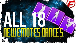 getlinkyoutube.com-Destiny ALL 18 NEW EMOTES and DANCE MOVES Tess Everis Inventory