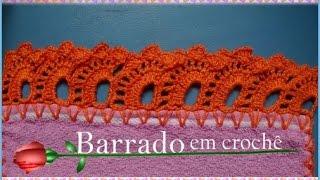 getlinkyoutube.com-BARRADO EM CROCHÊ CARREIRA ÚNICA (corrigido)