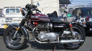 getlinkyoutube.com-KAWASAKI W650 RS W3 ダブサン エンジン始動 サウンド 大根マフラー
