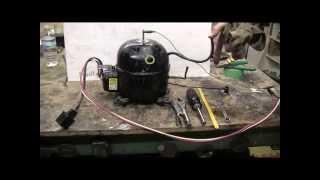 DIY - How To Make A High Pressure Air Setup From A Refrigerator