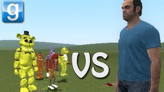 getlinkyoutube.com-Gmod TITANS vs ANIMATRONICS! (Garry's Mod Sandbox)