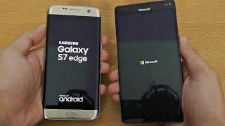 getlinkyoutube.com-Samsung Galaxy S7 Edge vs Microsoft Lumia 950XL - Speed Test (4K)