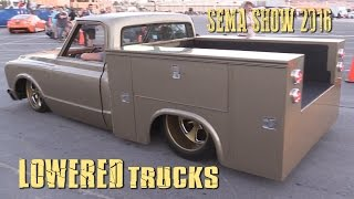 getlinkyoutube.com-LOWERED TRUCKS of SEMA SHOW 2016