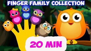 getlinkyoutube.com-Finder Family Collection. 20 Finger Family songs. Daddy Finger Nursery Rhymes