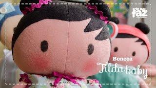 getlinkyoutube.com-Boneca Tilda Baby (Vera Portela)
