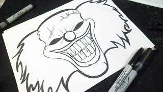 getlinkyoutube.com-comment dessiner un clown