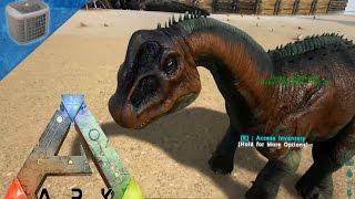 getlinkyoutube.com-ARK Survival Evolved Gameplay: Baby Bronto, Sarco, and Compy!!! [Ep 89]