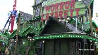 getlinkyoutube.com-Horror Lazarett (Lehmann) - Kirmes Aachen Sommerbend 2013 (Walkthrough)