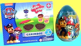 getlinkyoutube.com-Massinhas Super Massa Patrulha Canina Carimbos Play-Doh Paw Patrol Stampers Surprise Egg