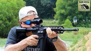 getlinkyoutube.com-Lone Wolf G9 AR-15 9mm Glock Carbine