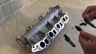 getlinkyoutube.com-Repair of Inlet Manifold Swirl Flaps 1.9 CDTI Vauxhall Astra Vectra Saab Alfa Romeo Fiat