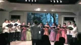 Agnus Dei - Missa Festiva - John Leavitt - conducted by Sarin Chintanaseri