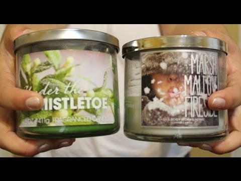 WalMart 3 Wick Candles vs BBW 3 Wick Candles