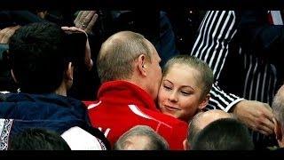 getlinkyoutube.com-Путин поцеловал и обнял Юлю Липницкую!!!