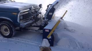 TRUCK MOUNTED SNOW BLOWER IN ACTION_1