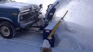 getlinkyoutube.com-TRUCK MOUNTED SNOW BLOWER IN ACTION_1