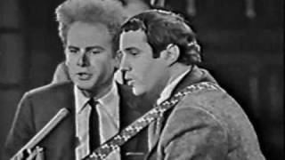 getlinkyoutube.com-Simon & Garfunkel - Sounds Of Silence (Live Canadian TV, 1966)