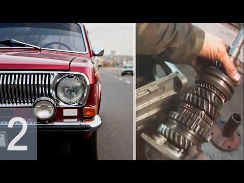 ВОЛГА ГАЗ 24 - Ремонт КПП 4-х ступенчатая - Часть 2