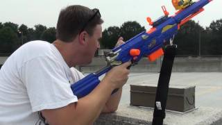 MPb Ka-POW-bq 2010: Nerf Shoot out with the Longstrike CS-6