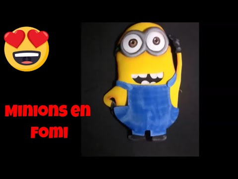 Minions - Como Hacerlos en fomi (how to make them with fomi)