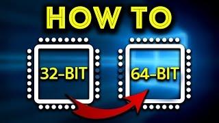 getlinkyoutube.com-How to Upgrade 64 bit From 32 bit in Windows