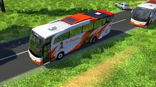getlinkyoutube.com-Euro Truck Simulator 2 - JetBus HD P.O Haryanto + Map Legiunnaire v2.10 Addon Map Indonesia