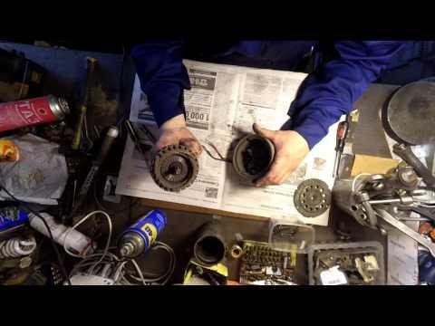 Ремонт вентилятора автобусного кондиционера