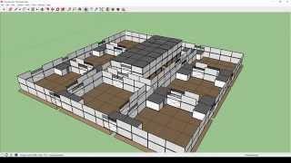 getlinkyoutube.com-SECURE Base Design for FARMING !!HARD!! [H1Z1] (Sketchup)