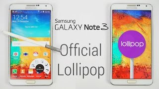 getlinkyoutube.com-Galaxy Note 3 - Official Android 5.0 Lollipop Update - Install Instructions (N9005 Final)