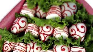 getlinkyoutube.com-Cómo hacer un arreglo frutal de fresa y chocolate / Fresas con chocolate deliciosas