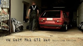 "getlinkyoutube.com-VW Golf Mk1 GTI 16v ""Hillclimb Edition"" in Action!"