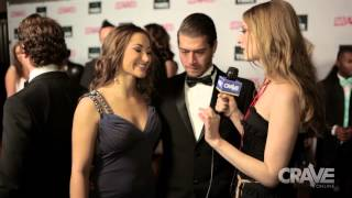 getlinkyoutube.com-AVN Show 2014: Dani Daniels and Xander Corvus Talk with Ela Darling