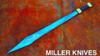 getlinkyoutube.com-Forging a Roman Gladius Sword