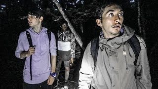 OVERNIGHT AT SUICIDE FOREST (Warning: Incredibly Scary)