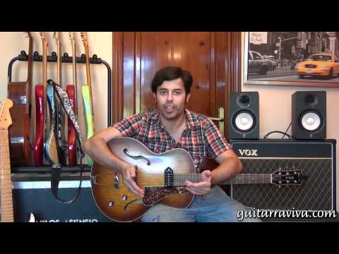 BLUES - APRENDE CON LA GUITARRA FACIL COMO TOCAR UN BLUES EN GUITARRA MUY FACIL APRENDIZ